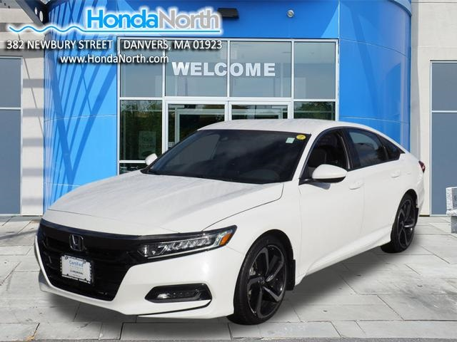 Certified Pre Owned 2018 Honda Accord Sport