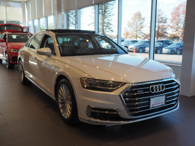 New 2019 Audi A8 L 55 4d Sedan In Danvers 19016 International