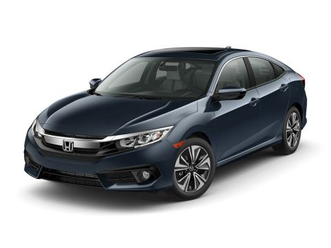 Pre-Owned 2017 Honda Civic EX-T FWD 4D Sedan