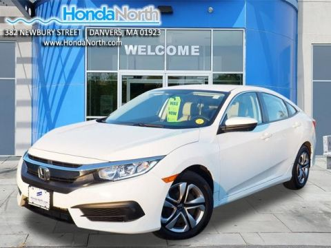 Certified Pre-Owned 2017 Honda Civic LX FWD 4D Sedan