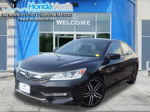 Certified Pre-Owned 2017 Honda Accord Sport Special Edition FWD 4D Sedan