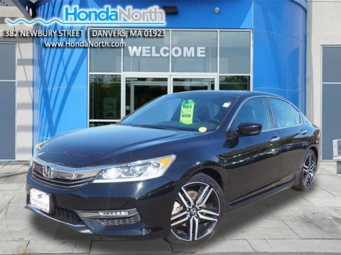 Certified Pre-Owned 2016 Honda Accord Sport FWD 4D Sedan
