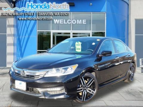 Certified Pre-Owned 2017 Honda Accord Sport FWD 4D Sedan