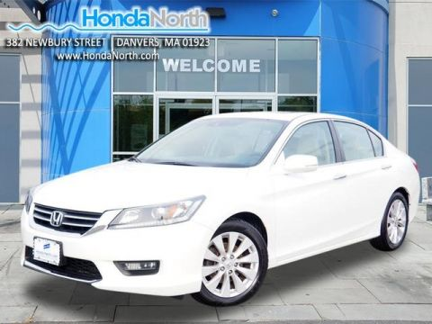 Certified Pre-Owned 2015 Honda Accord EX-L FWD 4D Sedan