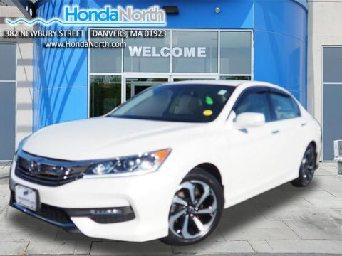 Certified Pre-Owned 2017 Honda Accord EX-L FWD 4D Sedan