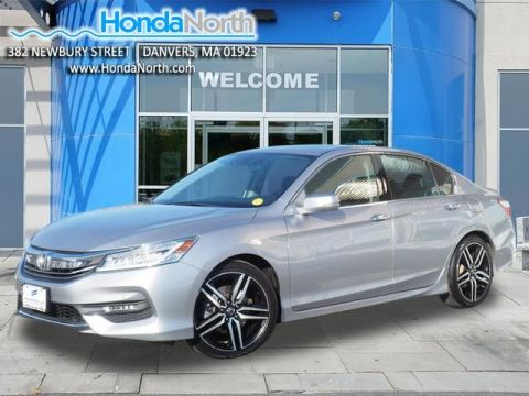 Certified Pre-Owned 2016 Honda Accord Touring FWD 4D Sedan