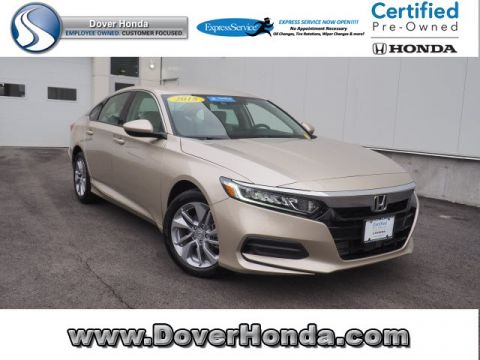 Pre-Owned 2018 Honda Accord LX FWD 4D Sedan
