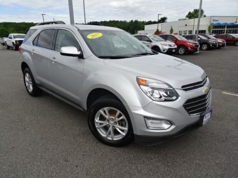 Pre-Owned 2017 Chevrolet Equinox LT AWD