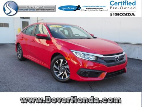 Certified Pre-Owned 2016 Honda Civic EX FWD 4D Sedan
