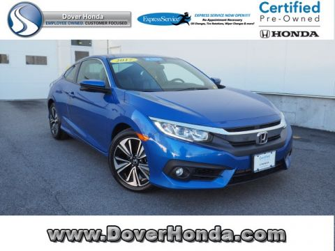 Certified Pre-Owned 2017 Honda Civic EX-T FWD 2D Coupe