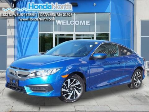 Certified Pre-Owned 2016 Honda Civic LX FWD 2D Coupe