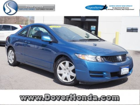 Pre-Owned 2011 Honda Civic LX FWD 2D Coupe