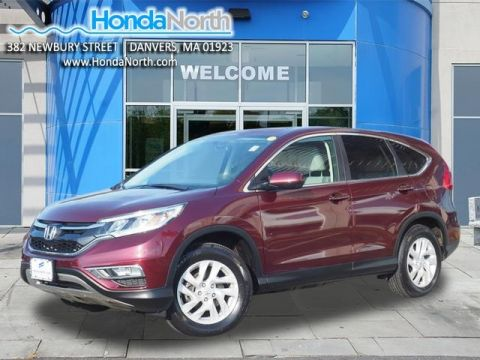 Certified Pre-Owned 2016 Honda CR-V EX AWD