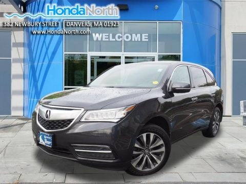 Pre-Owned 2016 Acura MDX 3.5L SH-AWD w/Technology Pkg AWD