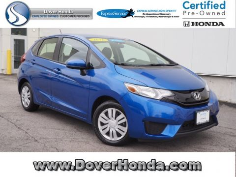 Certified Pre-Owned 2016 Honda Fit LX FWD 4D Hatchback