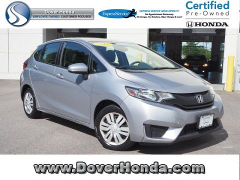 Certified Pre-Owned 2017 Honda Fit LX FWD 4D Hatchback