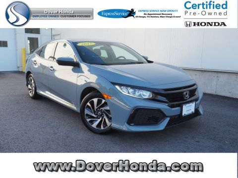 Certified Pre-Owned 2017 Honda Civic LX FWD 4D Hatchback