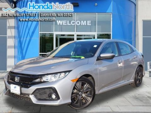 Certified Pre-Owned 2018 Honda Civic EX FWD 4D Hatchback