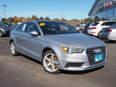 Certified Pre-Owned 2015 Audi A3 2.0T Premium quattro 4D Sedan