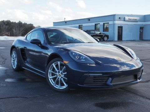 New 2018 Porsche 718 Cayman Base RWD 2D Coupe