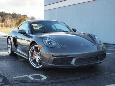 Pre-Owned 2018 Porsche 718 Cayman S RWD 2D Coupe