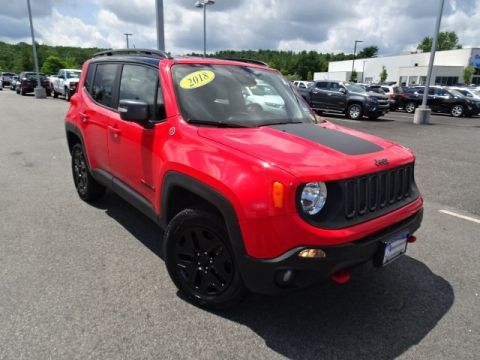 Pre-Owned 2018 Jeep Renegade Trailhawk 4WD
